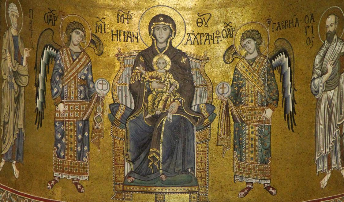 Мозаики Кафедрального собора Монреале