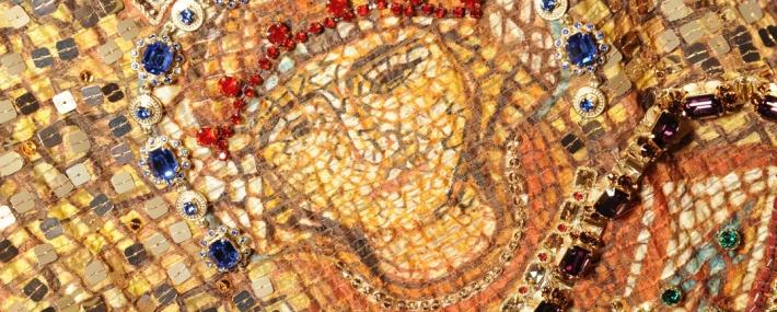 Мозаика в коллекции Dolce&Gabbana FW14