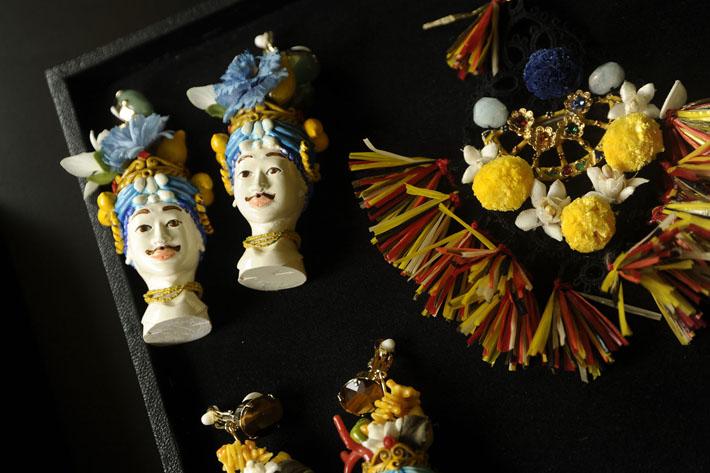 Серьги Dolce&Gabbana SS13