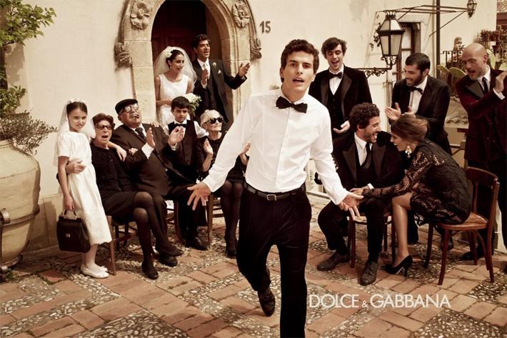 Рекламная кампания мужской коллекции Dolce&Gabbana FW13