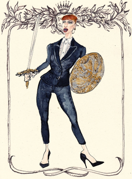 Жанна д'Арк в Dolce&Gabbana