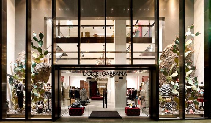 Флагманский бутик Dolce&Gabbana  на 5-й Авеню