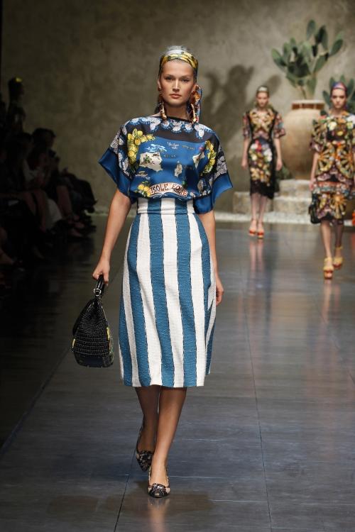 Dolce&Gabbana SS13, сицилийский фолк