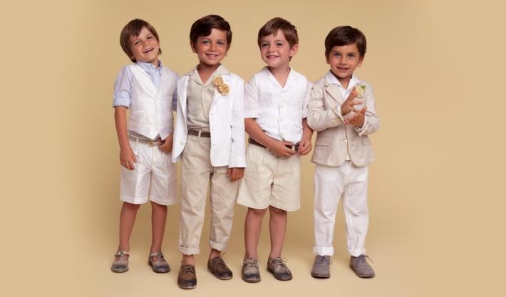 Детская коллекция Dolce&Gabbana для особых случаев, лен