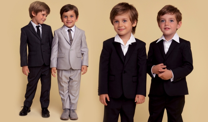Детская коллекция Dolce&Gabbana для особых случаев, костюмы