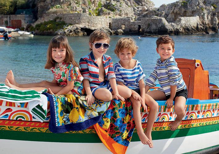 Детская коллекция Dolce&Gabbana SS13