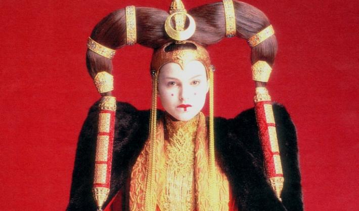 Прическа Падме Амидалы в Звездных Войнах