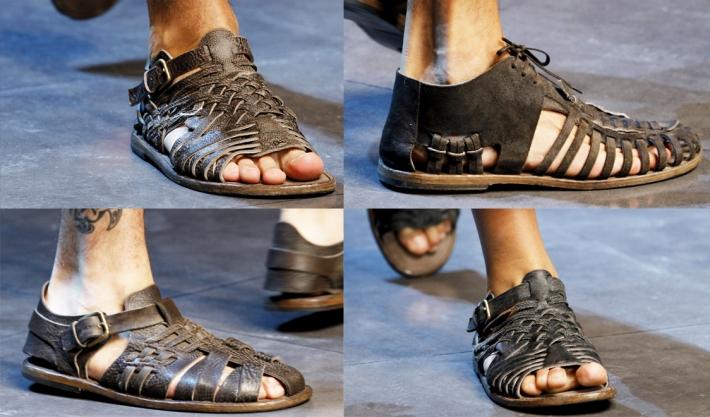 Мужские сандалии Dolce&Gabbana SS13