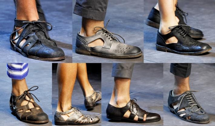 Купить мужские летние сандалии из кожи | Интернет