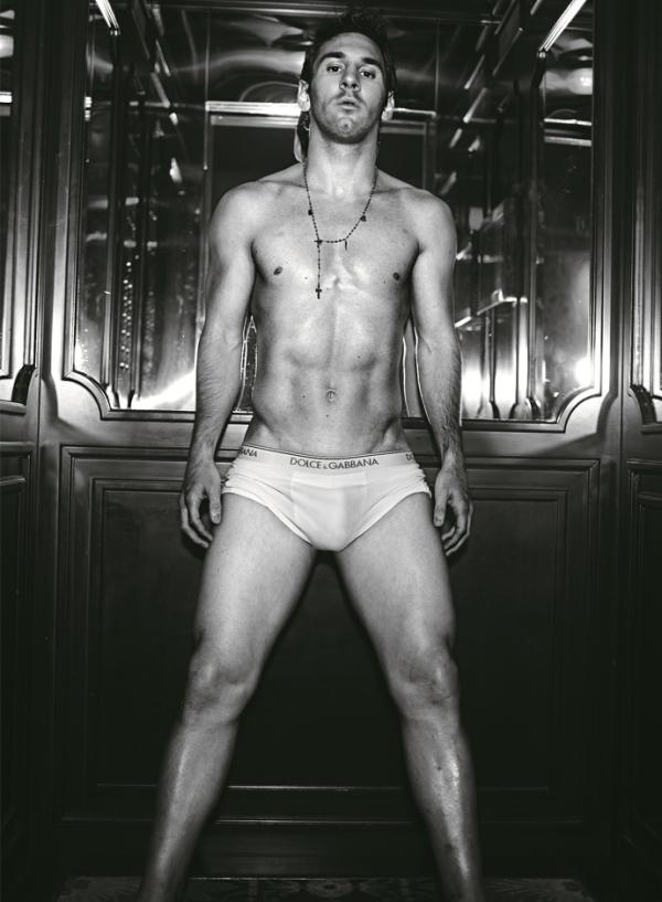 Лионель Месси для Dolce&Gabbana, фото Доменико Дольче