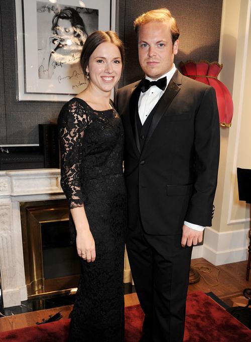 Эндрю Стэплс и Мэри Биван на открытии бутика Dolce&Gabbana в Лондоне