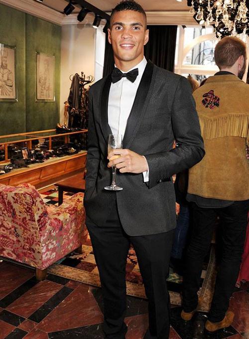 Энтони Огого на открытии бутика Dolce&Gabbana в Лондоне