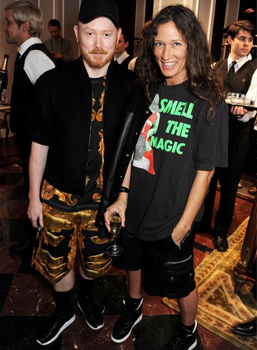 Гости на открытии бутика Dolce&Gabbana в Лондоне