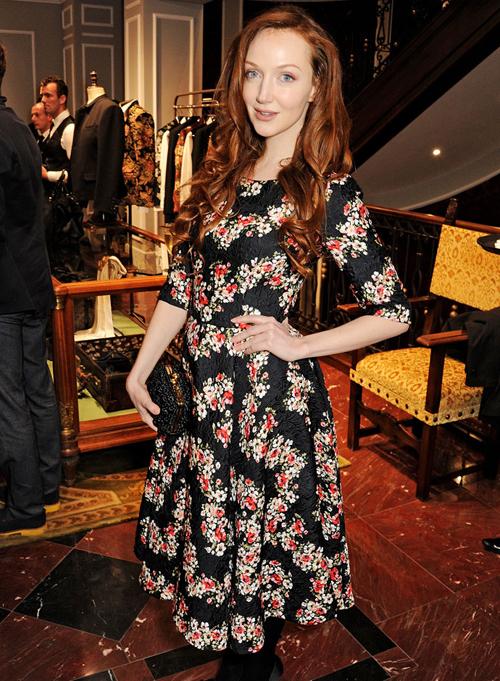 Оливия Грант на открытии бутика Dolce&Gabbana в Лондоне