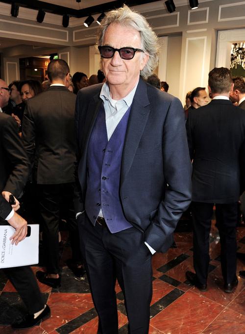 Пол Смит на открытии бутика Dolce&Gabbana в Лондоне