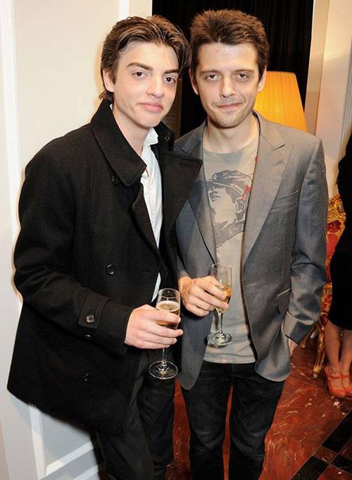 Саша Бейли и Джон Доу Фентон Бейли на открытии бутика Dolce&Gabbana в Лондоне