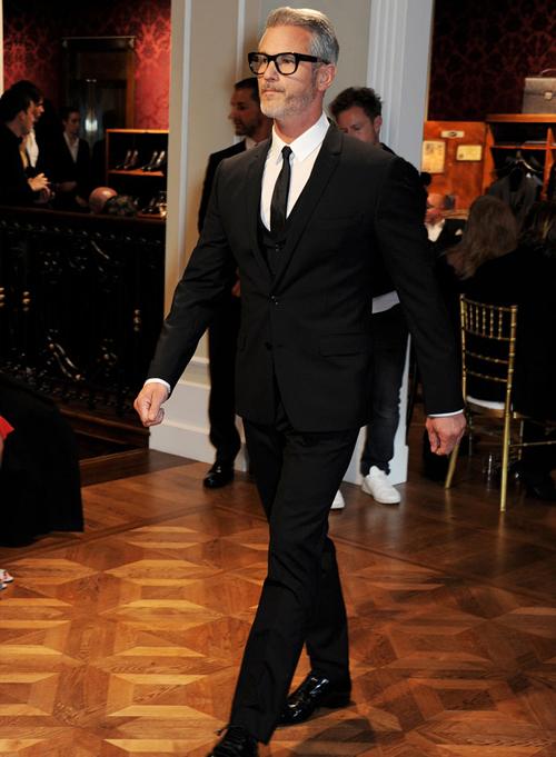 Модный показ на открытии бутика Dolce&Gabbana в Лондоне