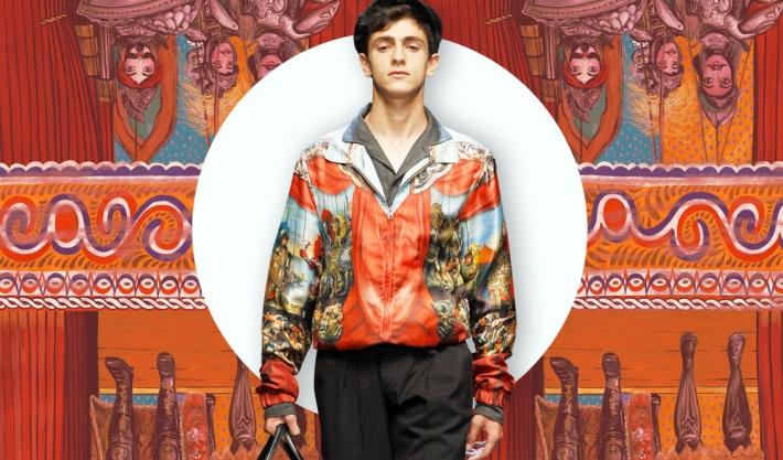 Куртка-пилот из коллекции Dolce&Gabbana SS13