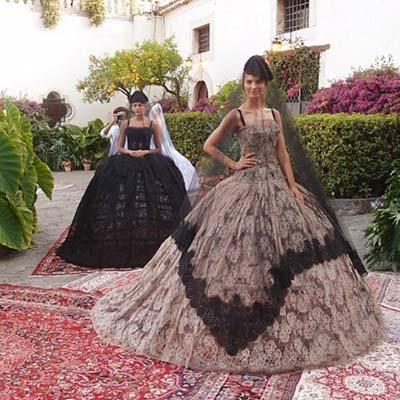 Анна Делло Руссо, Dolce&Gabbana от-кутюр, вдовы