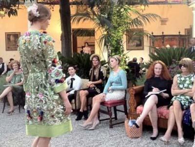 Анна Делло Руссо, Dolce&Gabbana от-кутюр