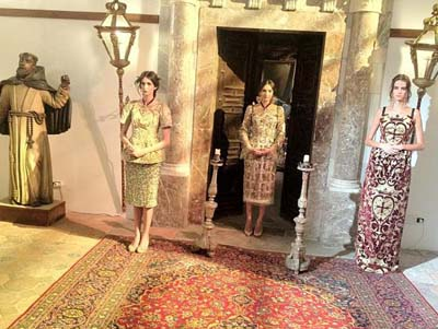 Анна Делло Руссо, Dolce&Gabbana от-кутюр, папессы