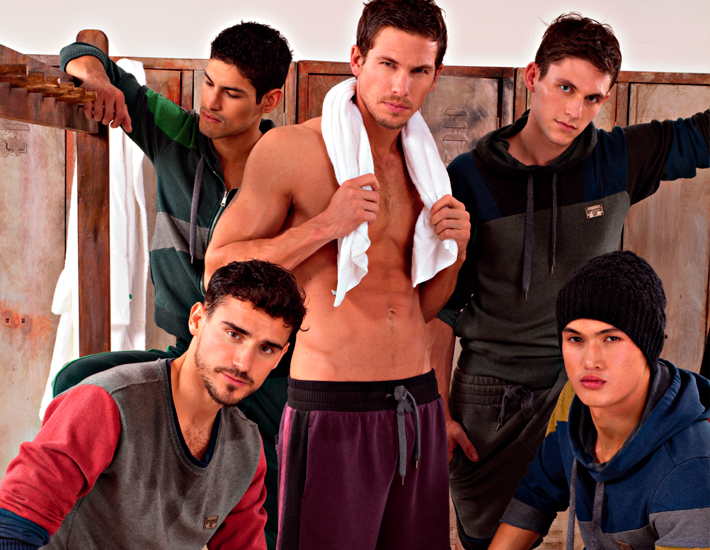 Спортивная коллекция Dolce&Gabbana FW13, Адам Сенн