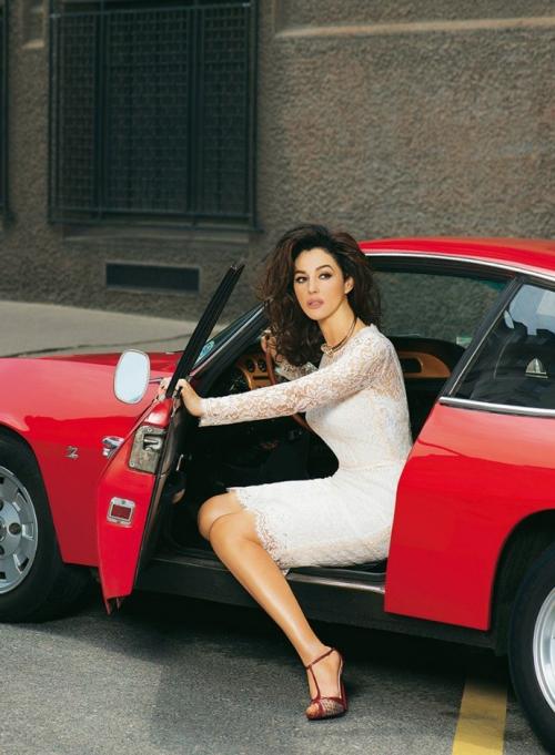Моника Беллуччи в Dolce&Gabbana для Madame Figaro