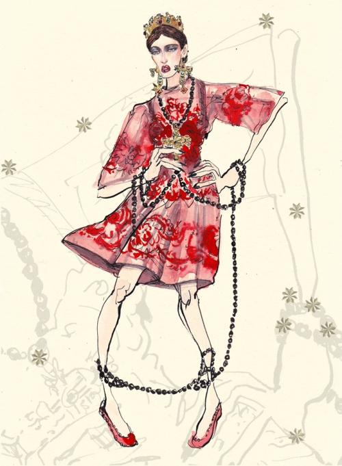 Андромеда, Dolce&Gabbana FW14, Лючио Пальмиери