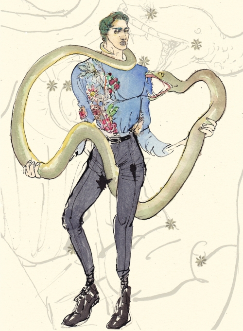 Змееносец, Dolce&Gabbana FW14, Лючио Пальмиери