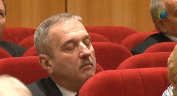 Быков спит на ЗСКО 14 февраля 2013?