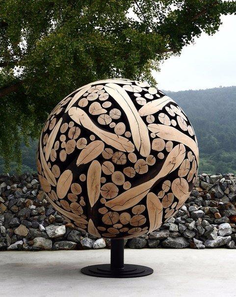 скульптуры и мебель из деревянных отходов1