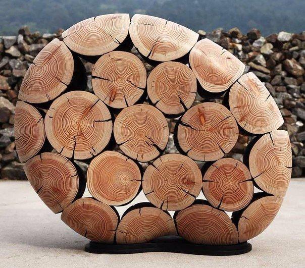 скульптуры и мебель из деревянных отходов3