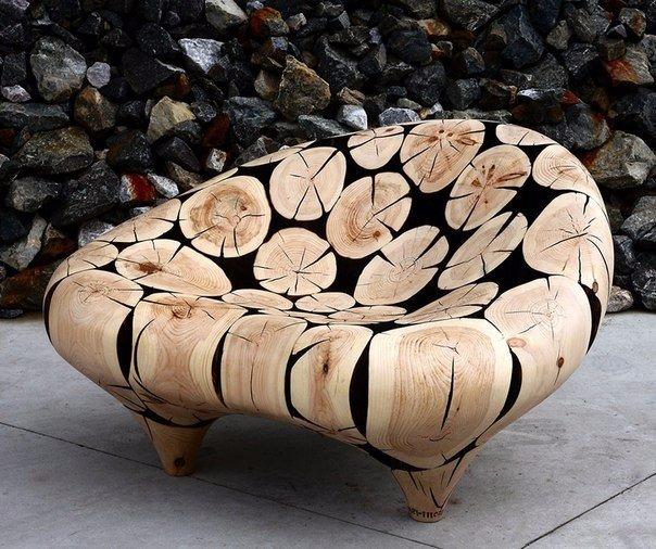 скульптуры и мебель из деревянных отходов4