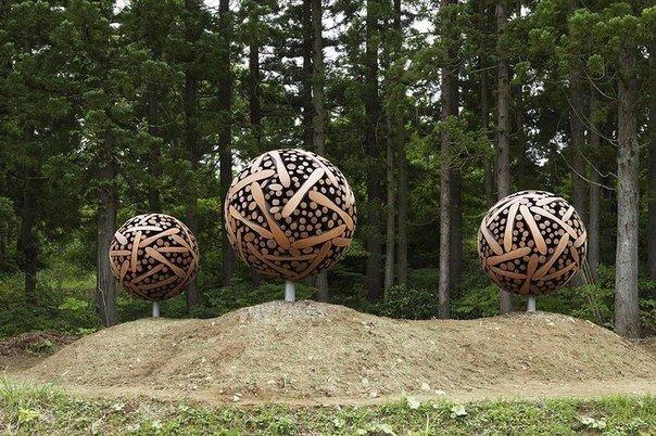 скульптуры и мебель из деревянных отходов9