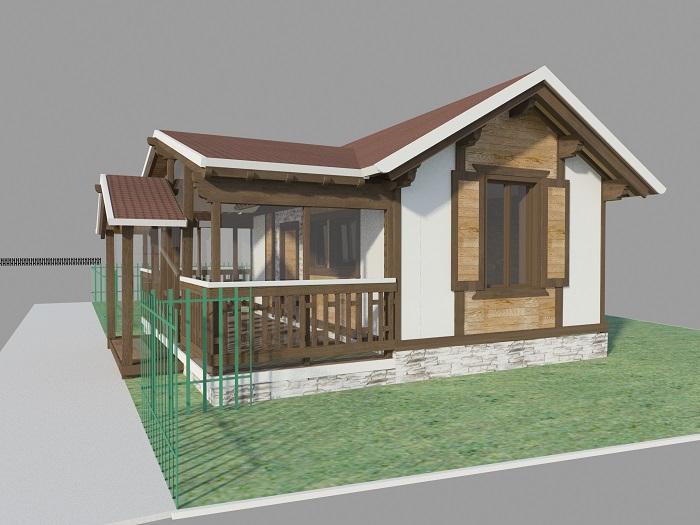 Как построить дом из соломы дом