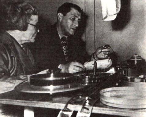 За монтажом Конька-горбунка 1947