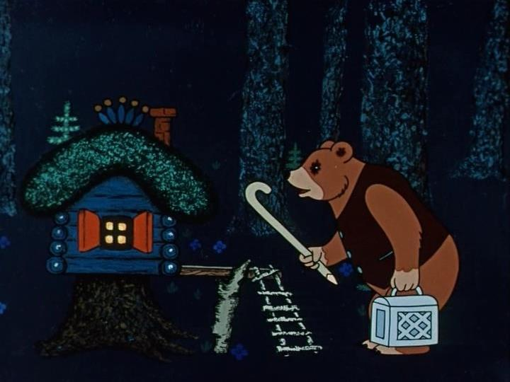 """""""Терем-теремок"""" (1971). Кадр из мультфильма"""