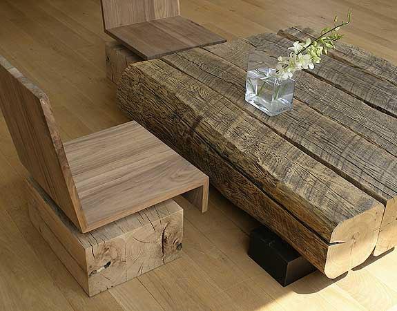 Мебель своими руками из брусков