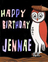 happy birthday jennae!!
