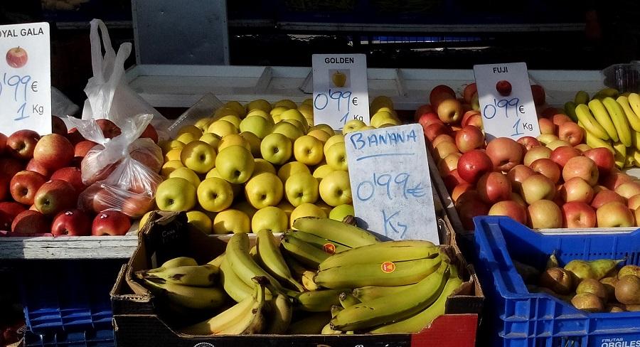 яблоки бананы