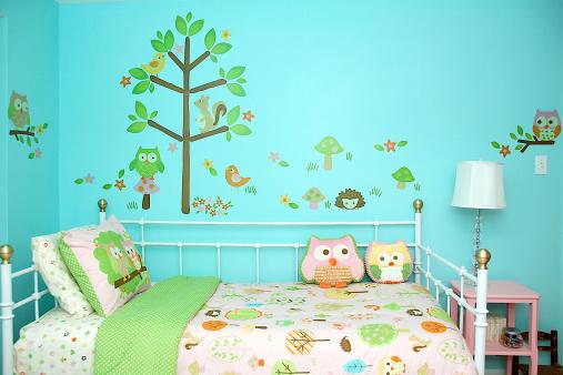 Картинки на стену в детскую комнату своими руками