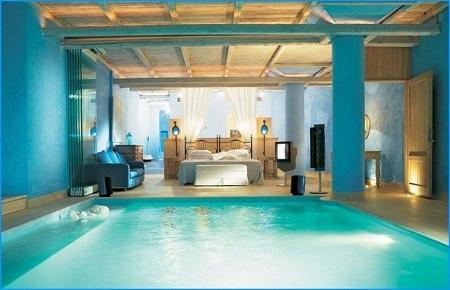бассейн в спальне