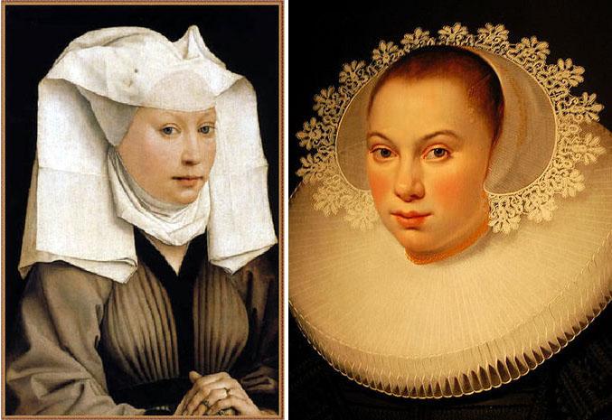 Почему дамы позировали для портретов в чепцах?