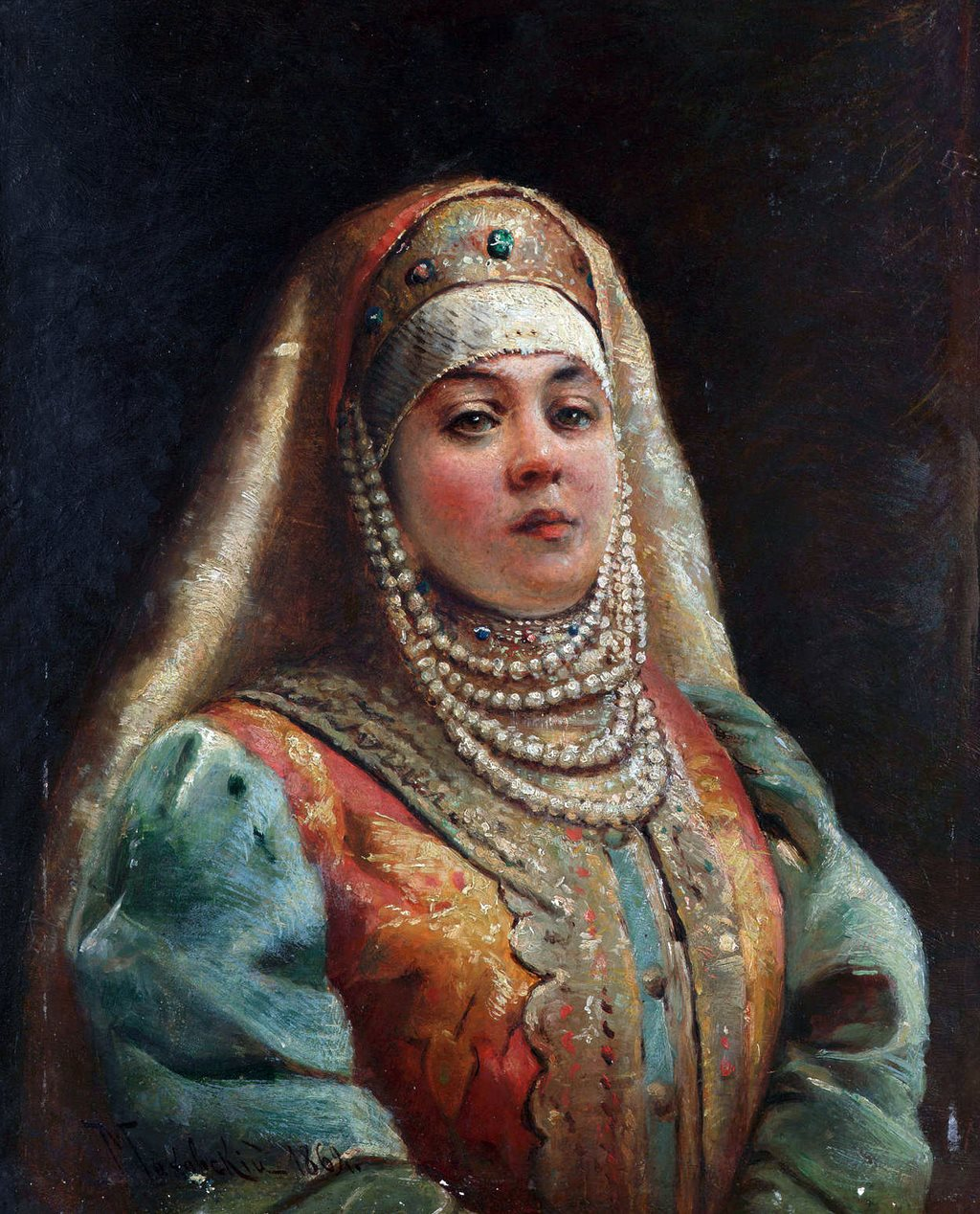 Что носили русские женщины под кокошником