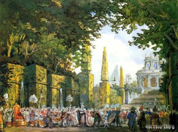 Драгоценные впечатления Картье от русского балета
