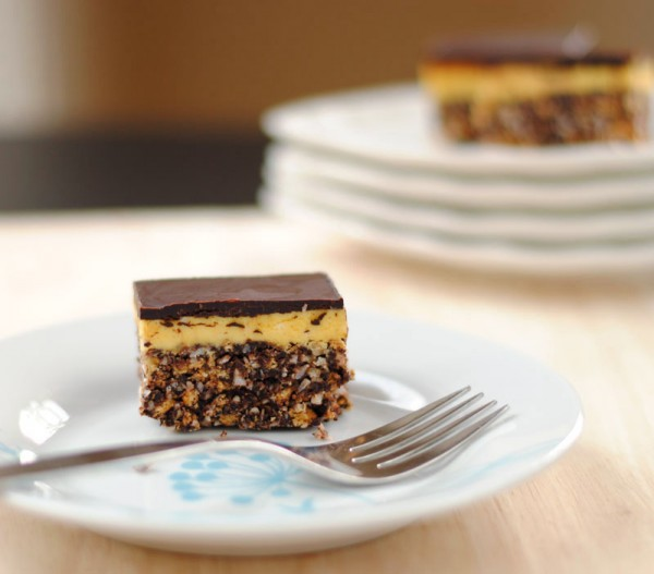 Nanaimo Bars are recognizable for their chocolate, coconut, and walnut ...