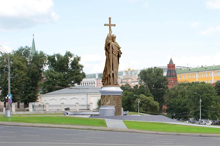князь-Владимир-Москва-Боровицкая-площадь