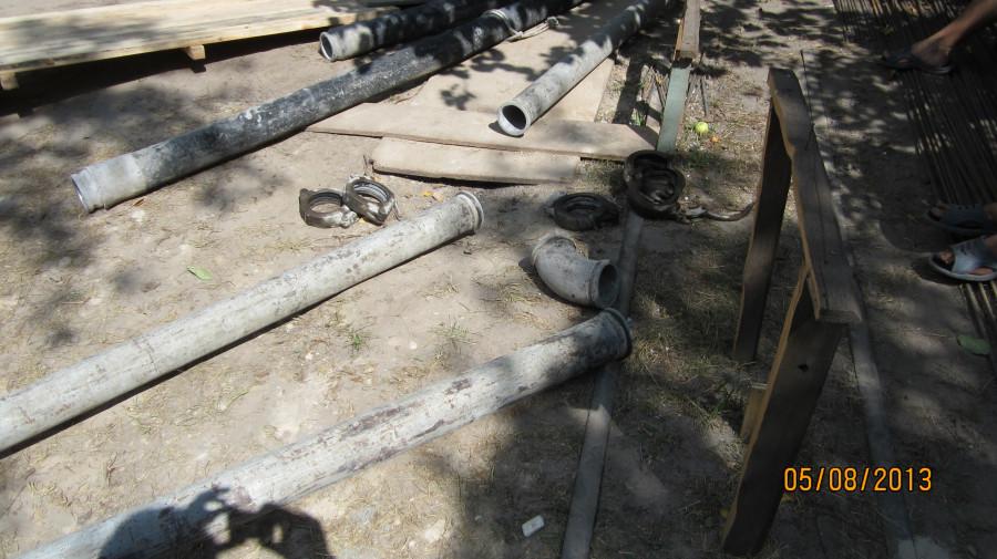 трубы для перекачки бетона