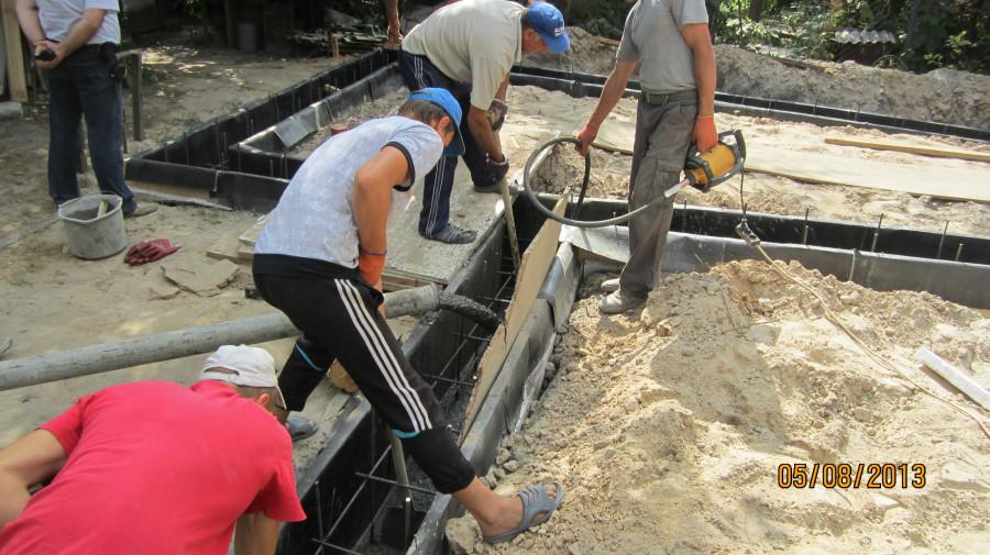 разгоняем бетон