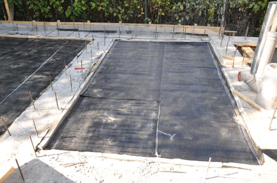 Заливка плиты фундамента подготовка